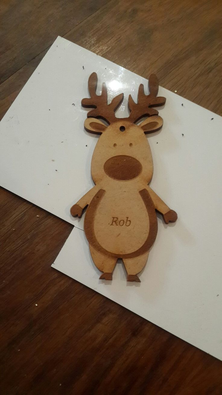 Personalised Mdf Christmas decorations