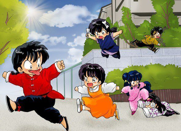 Ranma 1/2 - This image describes everything so perfectly!