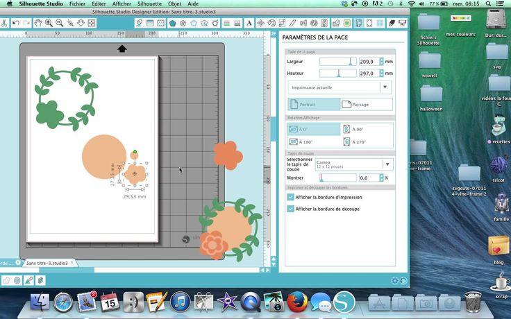 Les brèves de Silhouette 9 :Utiliser les fichiers SVG de chez SVGcuts                                                                                                                                                                                 Plus