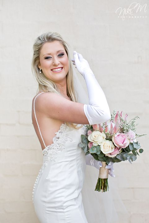 Beautiful Bianca in her Joss Bridal original