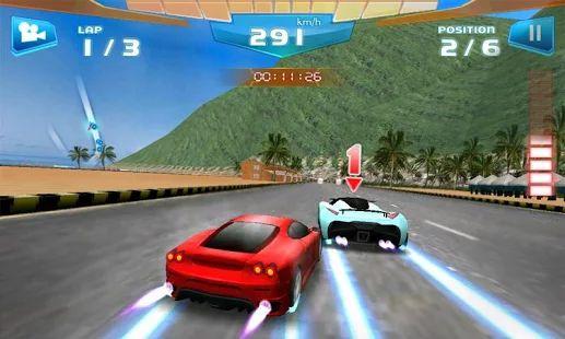 Fast Racing 3D– captură de ecran miniatură