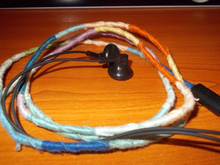 Colorful Embroidery Headphones