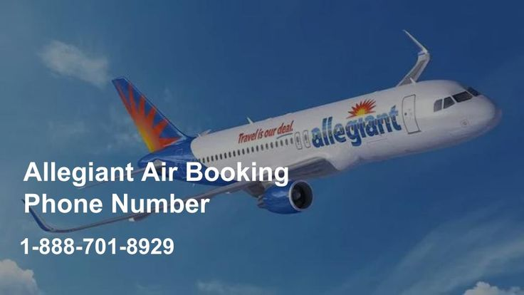 Allegiant Air Booking Phone Number 1-888-701-8929 | Reservations Phone Number