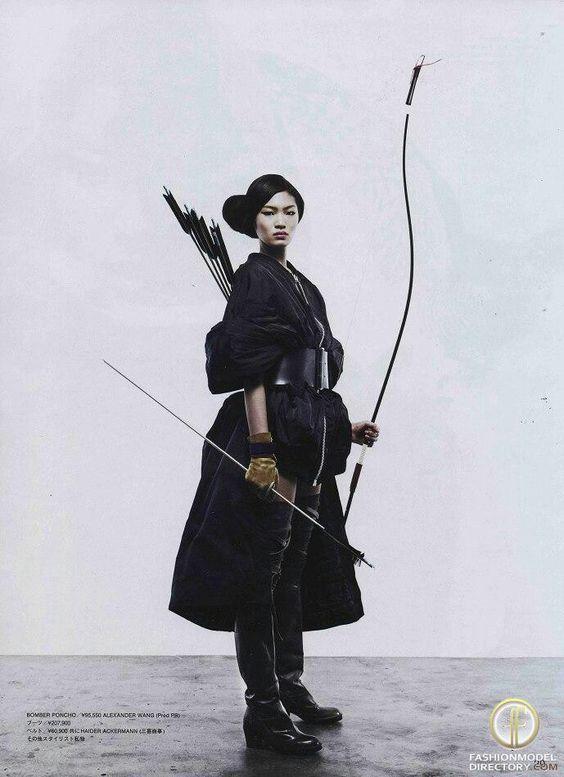"Archillect on Twitter ""… "" Female samurai, Warrior"