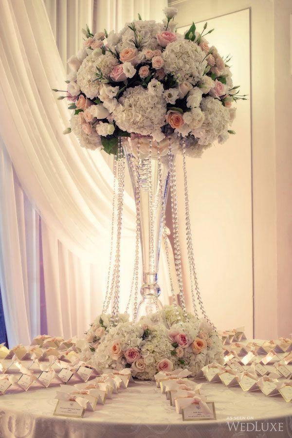 wedding table name card size%0A Beautiful Escort card table idea  escorttable  luxuryflowers   crystals   Guava WeddingPlace