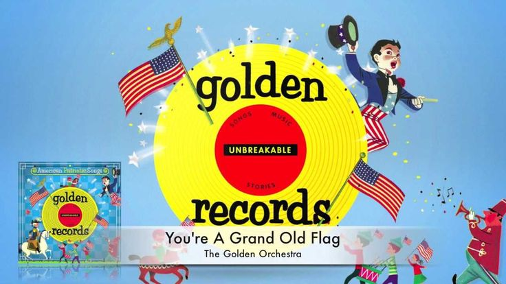 You're a grand old flag. American patriotic songs for children. History. 4th of July. Homeschooling.