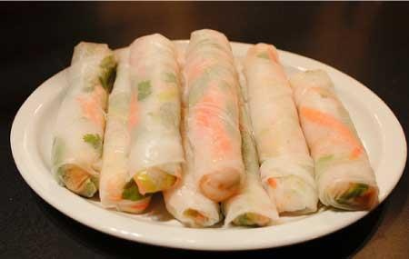 your Thai holiday: Fresh Spring Rolls In the West, most spring rolls ...