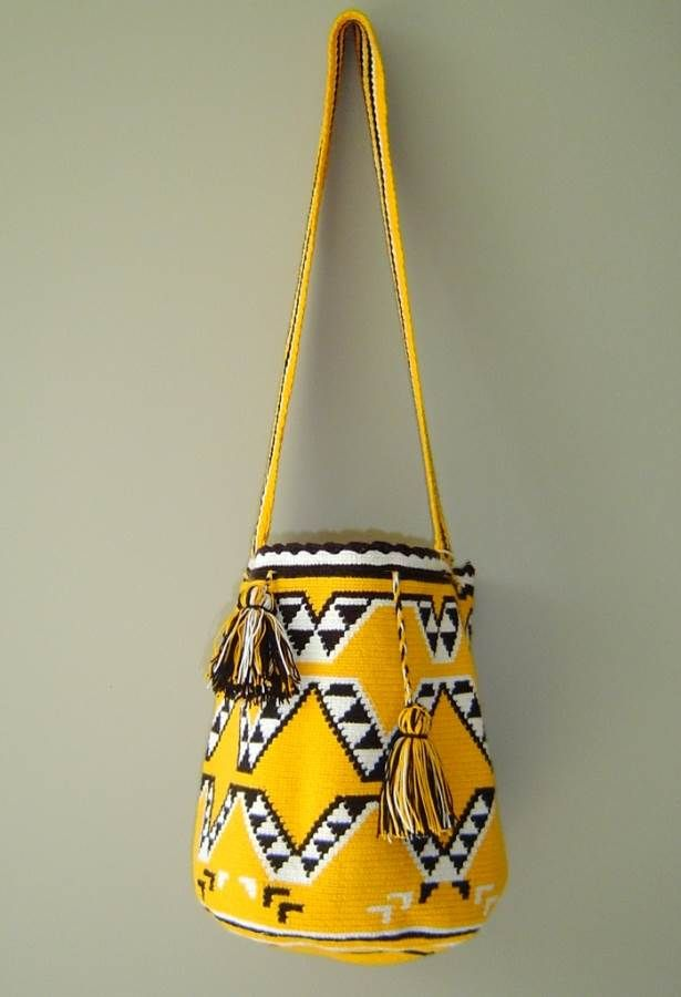 Fair Trade Wayuu Mochila Bag