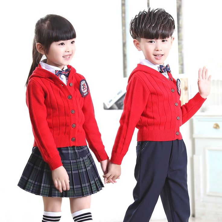 (67.99$)  Buy here - http://aina3.worlditems.win/all/product.php?id=32799067822 - Boys and girls spring and autumn new style knitted sweater cardigan  primary and secondary students British school uniforms