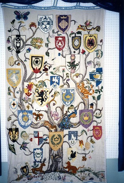 """SCA 30th Year Banner - """"Tree of SCA Life"""". Wonderful. 