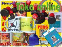 Stempel Warna, Papan nama, Gantungan Kunci, Mug Foto , Mug Foto / ID Card, Kartu nama,Plakat,Gantungan Nama http://sentralutama.com/