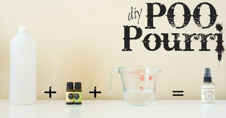 Make your own Poo Pourri for crazy cheap! Blocks all the stinky smells in the toilet and leaves the bathroom smelling divine!