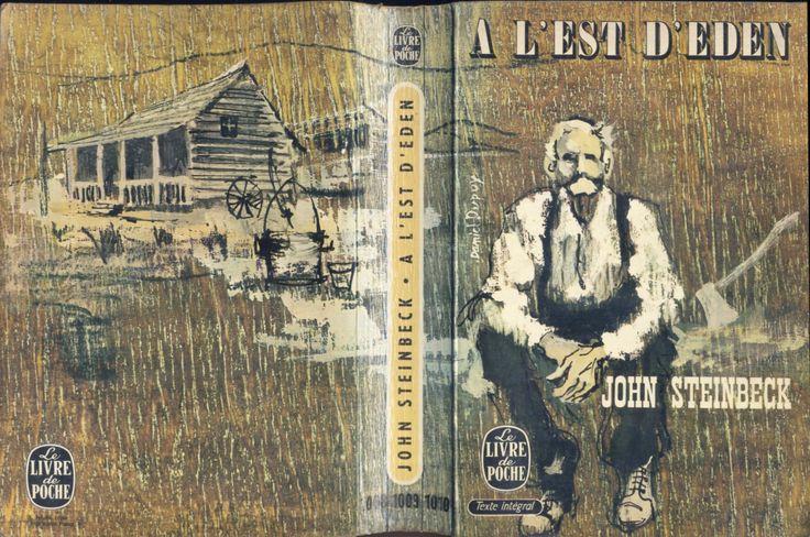 Daniel Dupuy - John Steinbeck, A l'est d'Eden, Le Livre de Poche n°1008/1009/1010, 1966, broché illustré