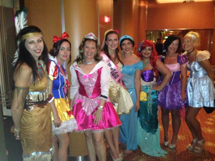 Disney Princess Hens night idea Love it!!
