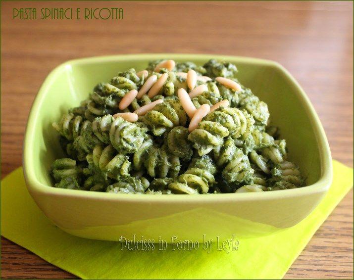 Pasta spinaci e ricotta, ideale per i bambini