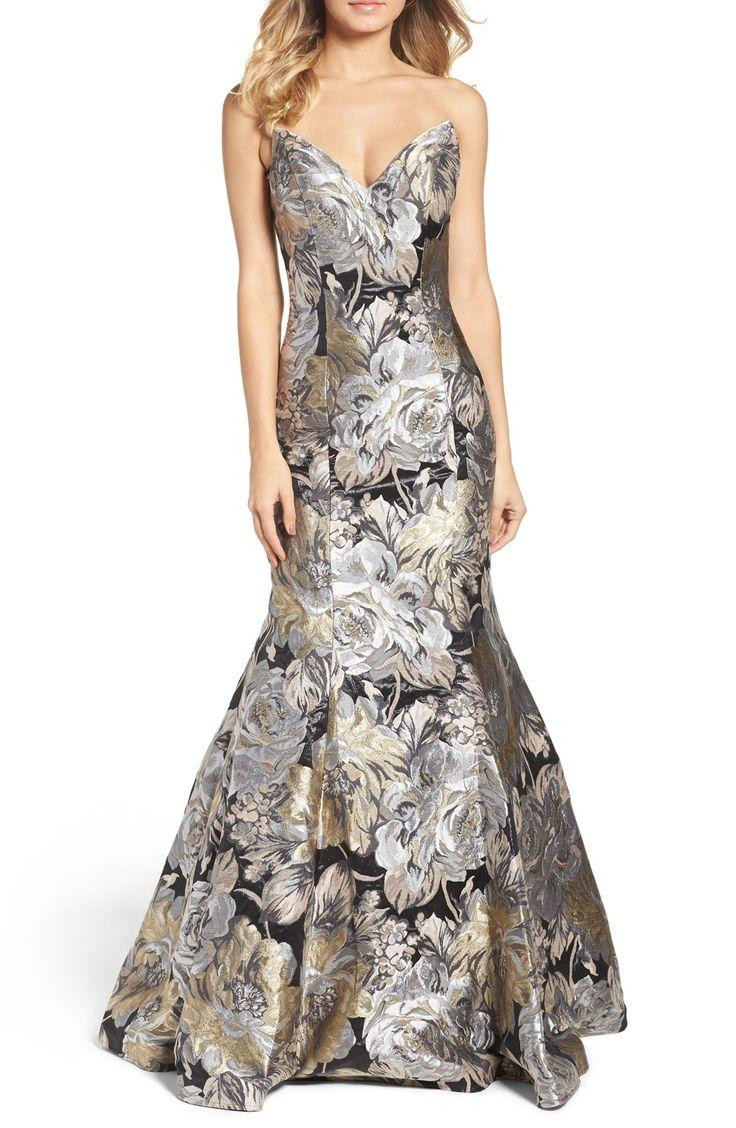 Metallic Mermaid Gown