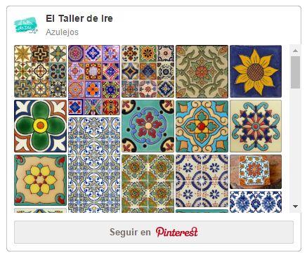 EL TALLER DE IRE nos trae este fantástico tutorial para aprender a hacer falsos azulejos con los que crear mosaicos. ¡No te hará falta saber dibujar!