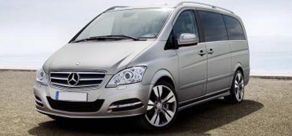 Mercedes Benz Viano Mini Vans for the babies...lol