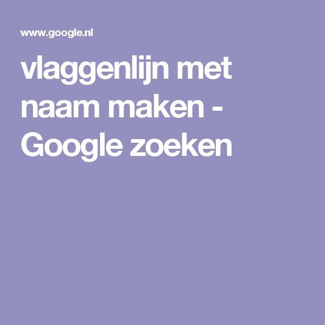 vlaggenlijn met naam maken - Google zoeken