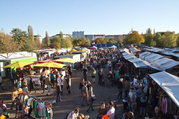 Jeden Sonntag: Flohmarkt im Mauerpark
