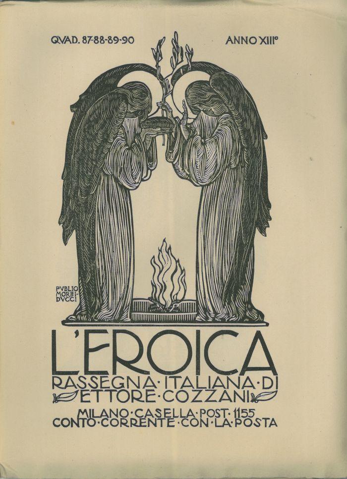 L'eroica, quaderno numero 87-88-89-90 - #scripomarket #scripofilia #scripophily #finanza #finance #collezionismo #collectibles #arte #art #scripoart #scripoarte #borsa #stock #azioni #bonds #obbligazioni