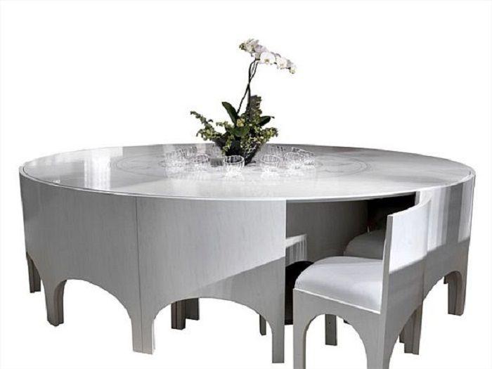 unique yet elegant dining set