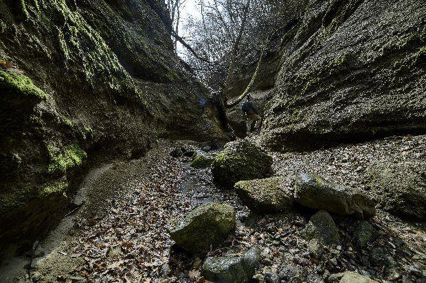 Óriási hasadékban nyílt meg a szikla: ez a Palóc Grand Kanyon! - Ripost