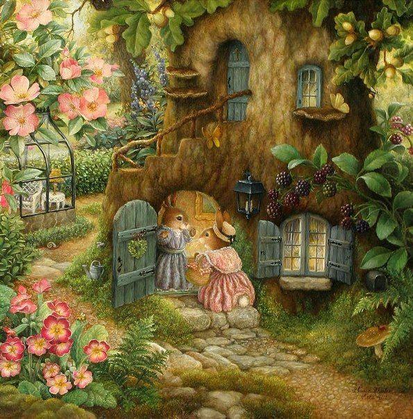 Сказочные иллюстрации Сьюзен Уилер : фото #5