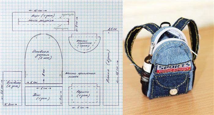 Nice backpack pattern for Bratz, Monster High dolls.