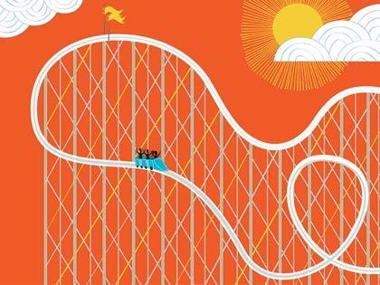 Roller Coaster illustration