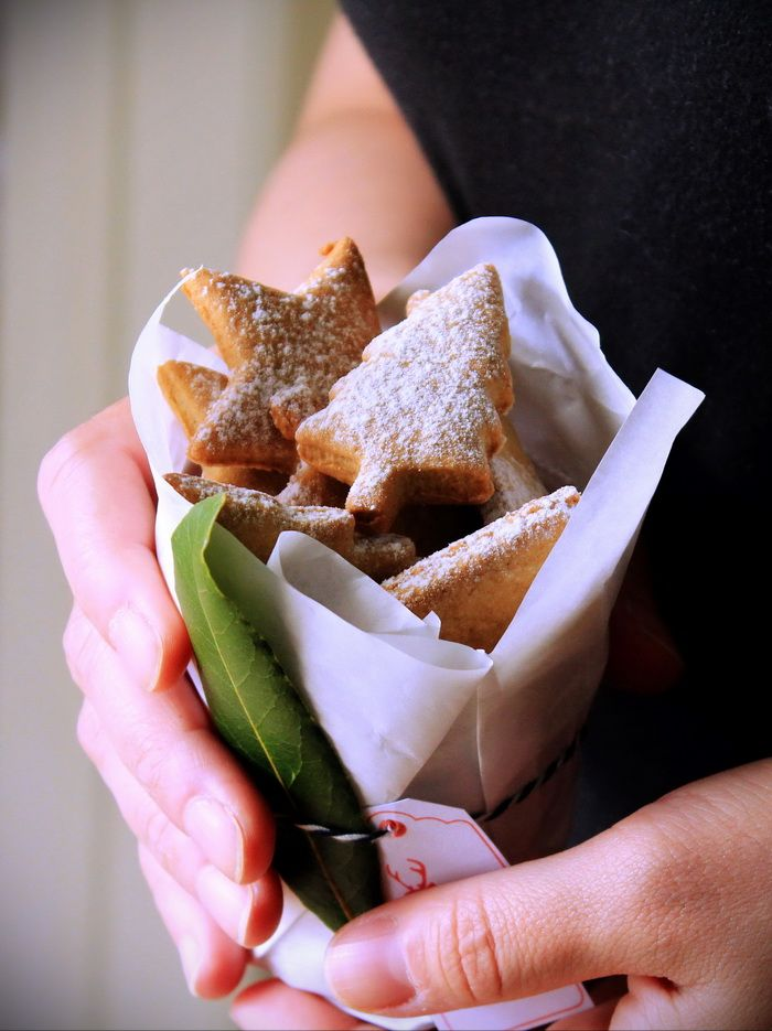 Cookies Xmas Christmas Cinnamon Flavor Cookies Food gift Hand made