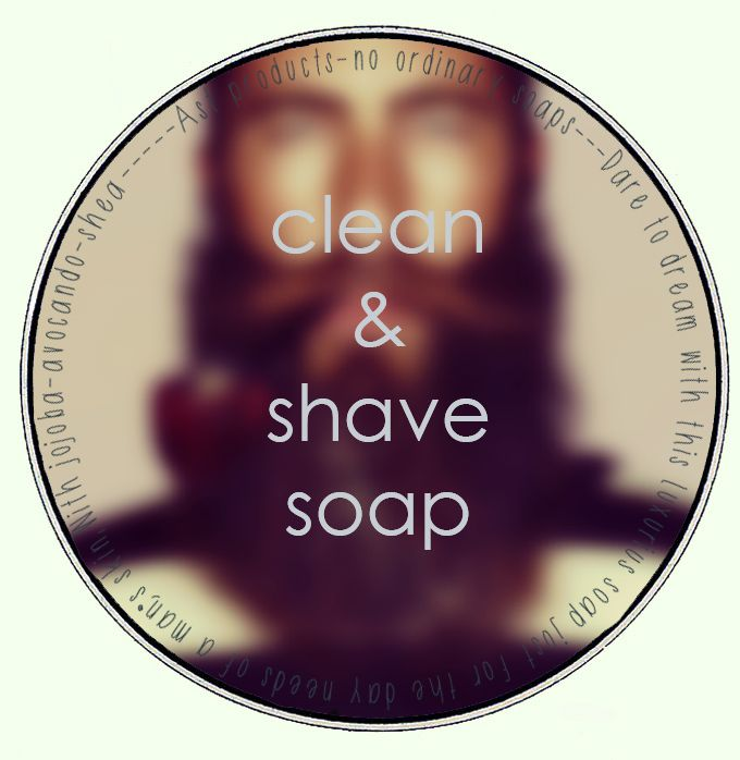 clean & shave soap