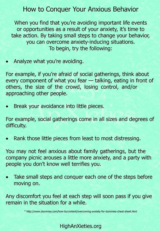 Anxiety Disorder: A strategy to aid in minimizing and managing anxiety disorders!! Michael L. Kerns/mlk5240