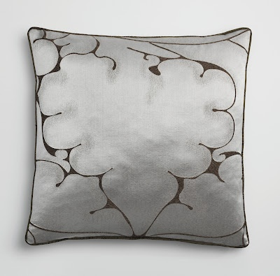 Minerva from Donghia  I'm using these as an accent on the settee #Black and White