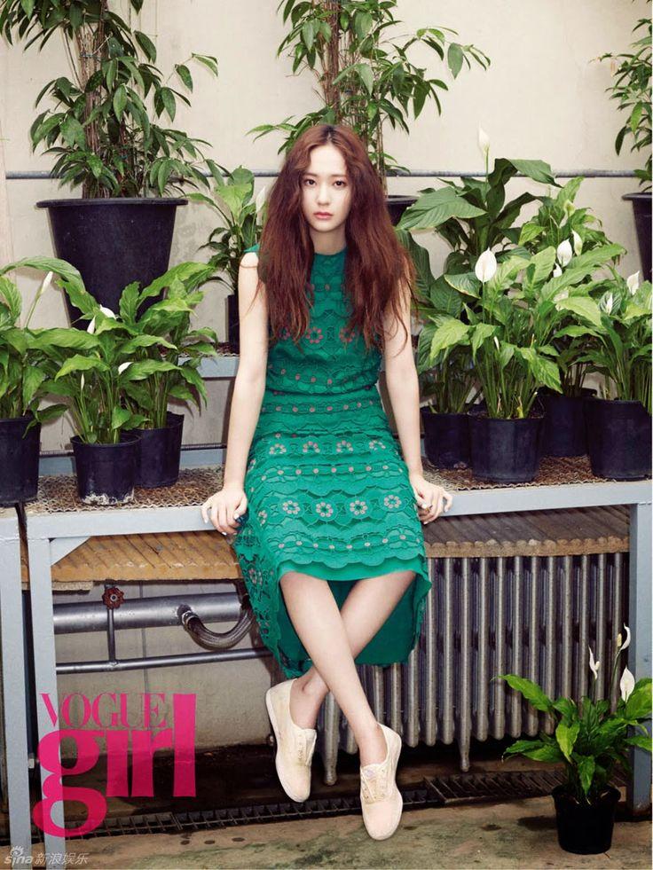 "[PICS] 150416 Vogue Girl Korea May Issue (Official) - Krystal | DearKrystal.net - f(x) Krystal International Fansite ""Shine Bright Like A Krystal"""