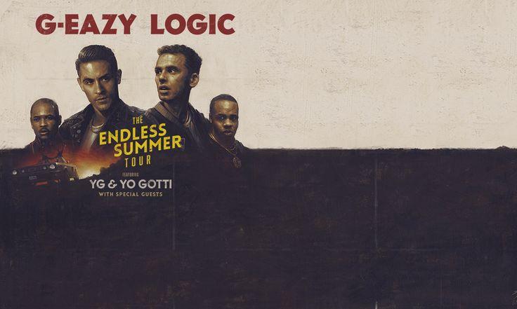 G-Eazy & Logic: The Endless Summer Tour; Fri, Jul 29, 2016, 6:30 PM EDT