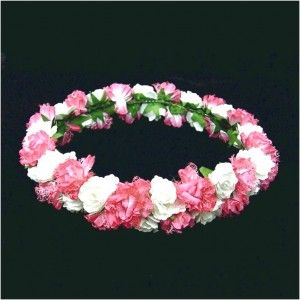 Affordable Inspiration Of Making Paper Flowers For Indian Wreath Nice Pink Color