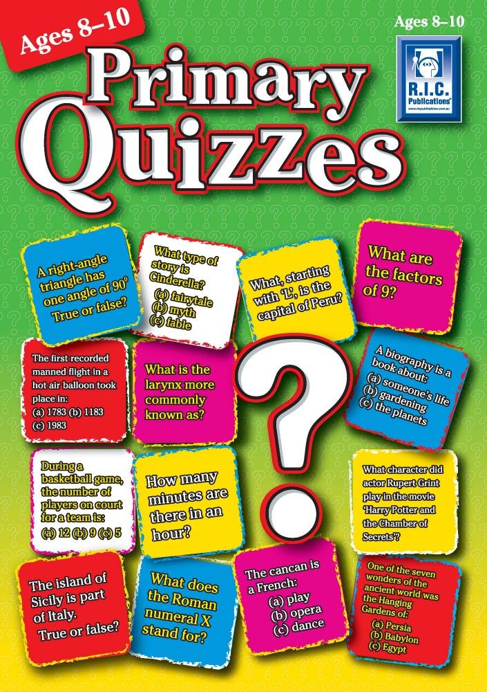 | Primary Quizzes - Ages 8-10_Page_01