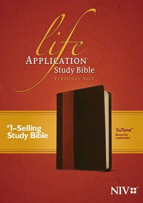 Life Application Study Bible-Personal Size-Brown/Tan - NIV
