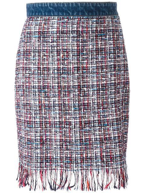 MSGM 트위드 펜슬 스커트. #msgm #cloth #스커트