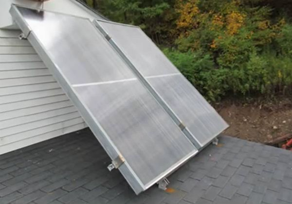 17 best images about energ a on pinterest food for Diy solar collector