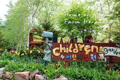 Children garden, Farm Herbnara, Korea