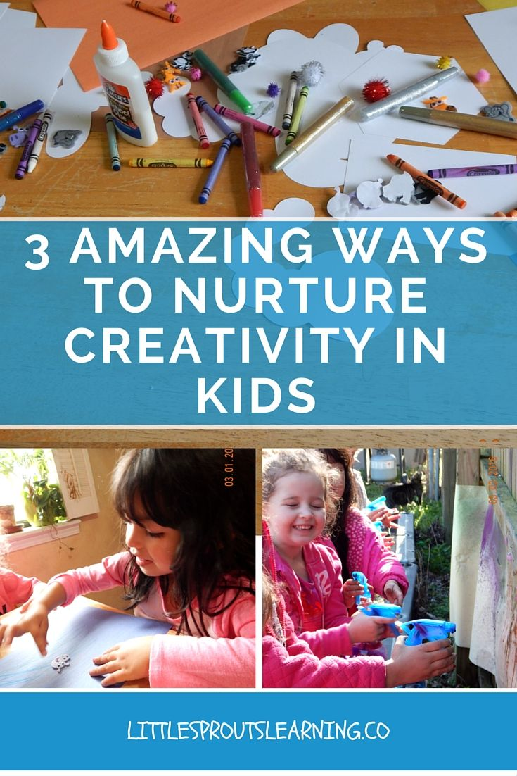 Fostering creativity in kids is so important to our future as a society and to the kid's self-esteem. Let your kids CREATE their own ideas and explore their own interests.