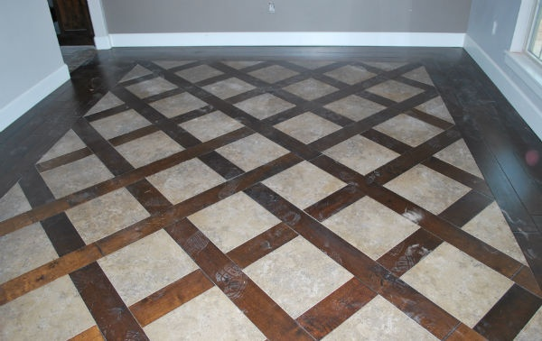 Awesome Wood and Tile flooring  www.timbercrafthomes.biz