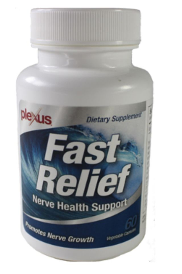 All natural Fast Relief Nerve Health Support contains special nutrients that have been clinically proven to heal & regenerate damaged nerves. Our Fast Relief Nerve Health Support may be beneficial for the following conditions: Nerve damage in neck or back, acute or chronic nerve damage due to surgery or trauma, Carpal tunnel syndrome, neuropathy due to diabetes, HIV, Chemotherapy or alcohol. www.plexusslim.com/tcrosby 225-937-4657