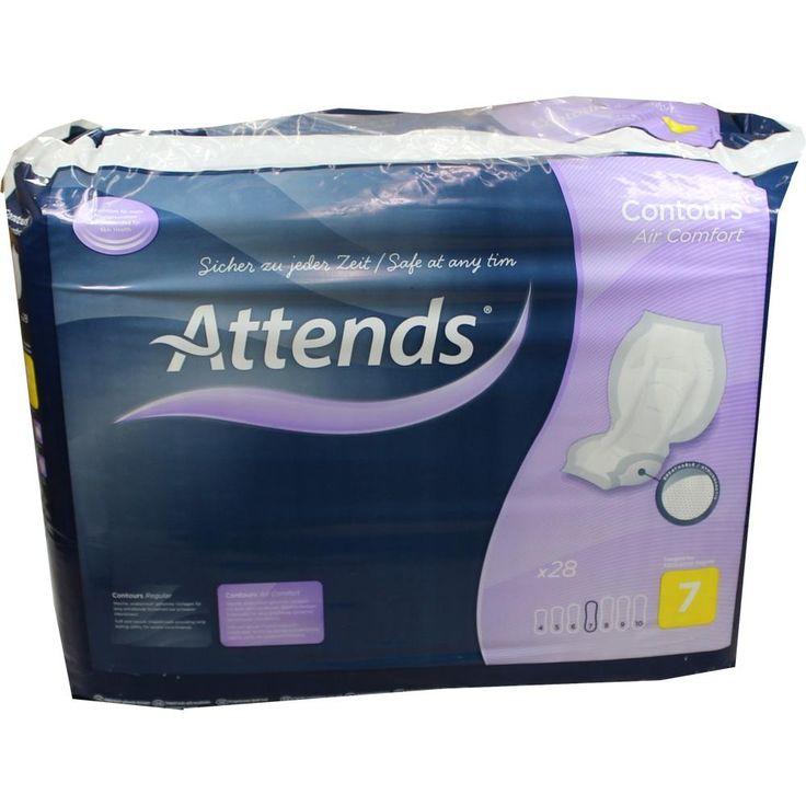 ATTENDS Contours Air Comfort 7 Neu Vorlagen:   Packungsinhalt: 28 St PZN: 08756364 Hersteller: Attends GmbH Preis: 13,10 EUR inkl. 19 %…