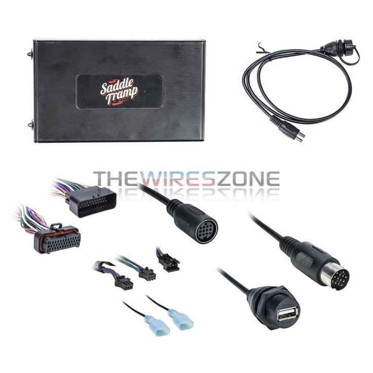 Metra BT-HD01 Bluetooth Audio Interface for Select 2006-13 Harley Davidson Radio…