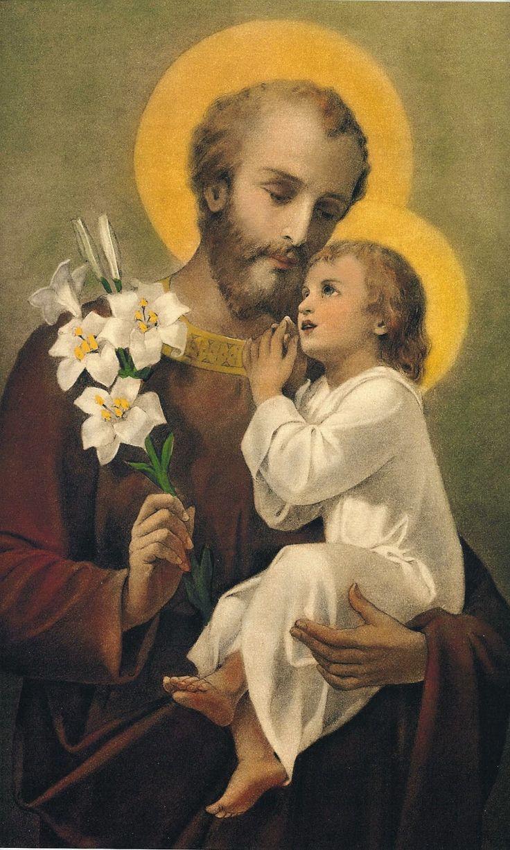 São José, Pai Nutrício do Menino Jesus (imagem grande)