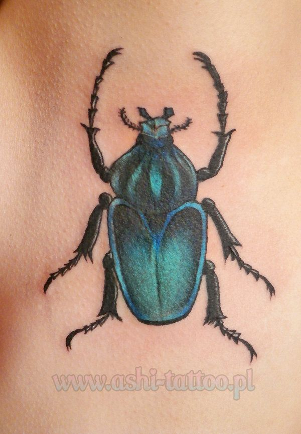 7 Appealing Beetle Tattoos | Tattoo.com