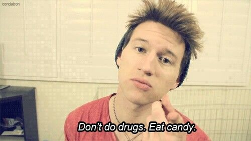 Wise words of Ricky Dillon, candy is WAY better anyways so, I mean...yeah
